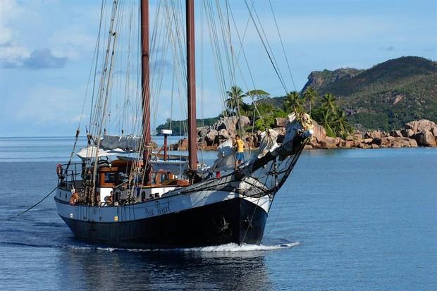 SV Sea Shell & Sea Pearl Seychelles sailing ship   Small ...