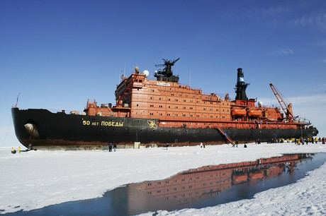 50 Years of Victory, the ship servicing North Pole Icebreaker Cruise