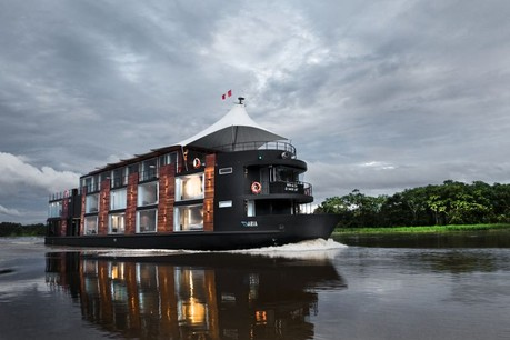 Aria Amazon, the ship servicing Aria Amazon Expedition Cruise