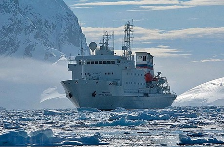 Akademik Sergey Vavilov, the ship servicing Spitsbergen Encounter (Akademik Sergey Vavilov)