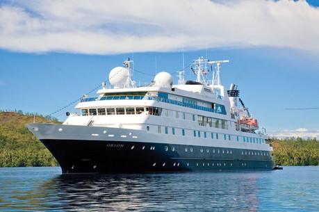 National Geographic Orion , the ship servicing Tahiti to the Marquesas: French Polynesian Discovery