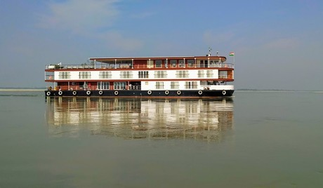 Charaidew II, the ship servicing Brahmaputra Maximum