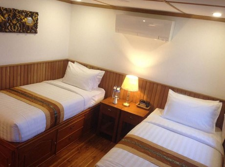 Main Deck Stateroom. From