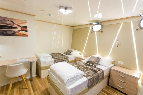 Lower deck cabins Deluxe Superior Ship