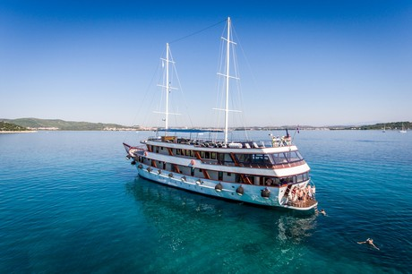 MS Paradis, the ship servicing Adriatic Cruise from Split to Split - Premium class