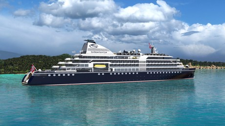 Sea Dream Innovation, the ship servicing From Ushuaia to Ushuaia 21 Days (Sea Dream Innovation)