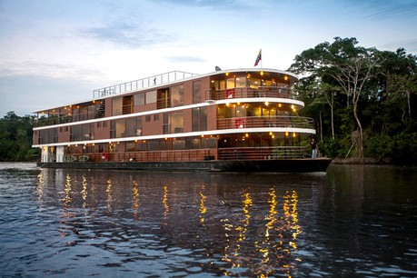 Anakonda, the ship servicing Amazon 8 Day Cruise (Sunday to Sunday)