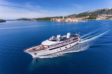 Stella Maris, the ship servicing Dubrovnik to Porec in Luxury