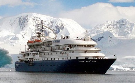 Hebridean Sky, the ship servicing Antarctic Peninsula (Hebridean Sky)