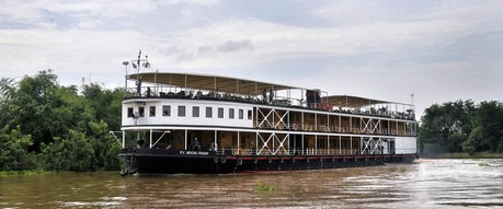 Mekong Pandaw, the ship servicing Classic Mekong (Upstream)