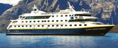 National Geographic Endeavour II , the ship servicing Galápagos + Land of the Inca (NG Endeavour II)