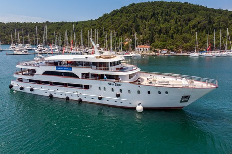 New Star, the ship servicing Dubrovnik to Split Luxury Adriatic Cruise