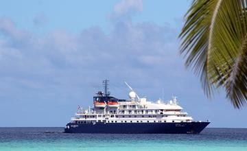 Island Sky, the ship servicing Grand Kimberley Coast With Cape Leveque (Island Sky)