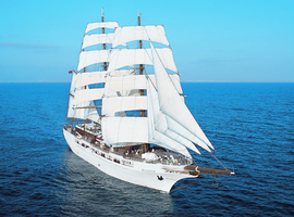 Travel on the Sea Cloud II