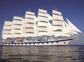 Travel on the Royal Clipper