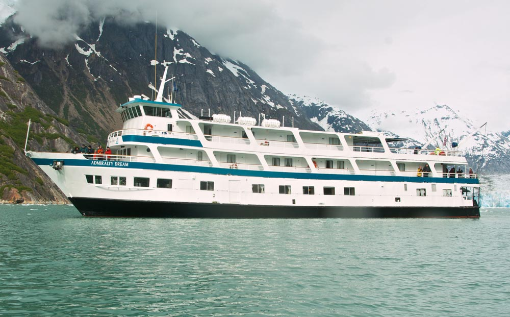 Admiralty Dream        , the ship servicing Alaska's Glacier Bay Adventure (Admiralty Dream)