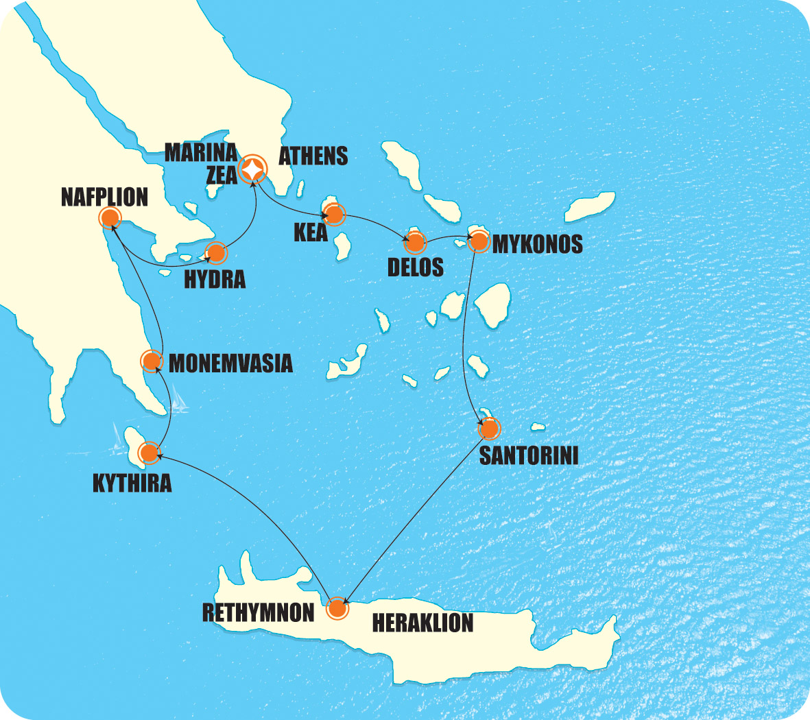 Piraeus Greece Map