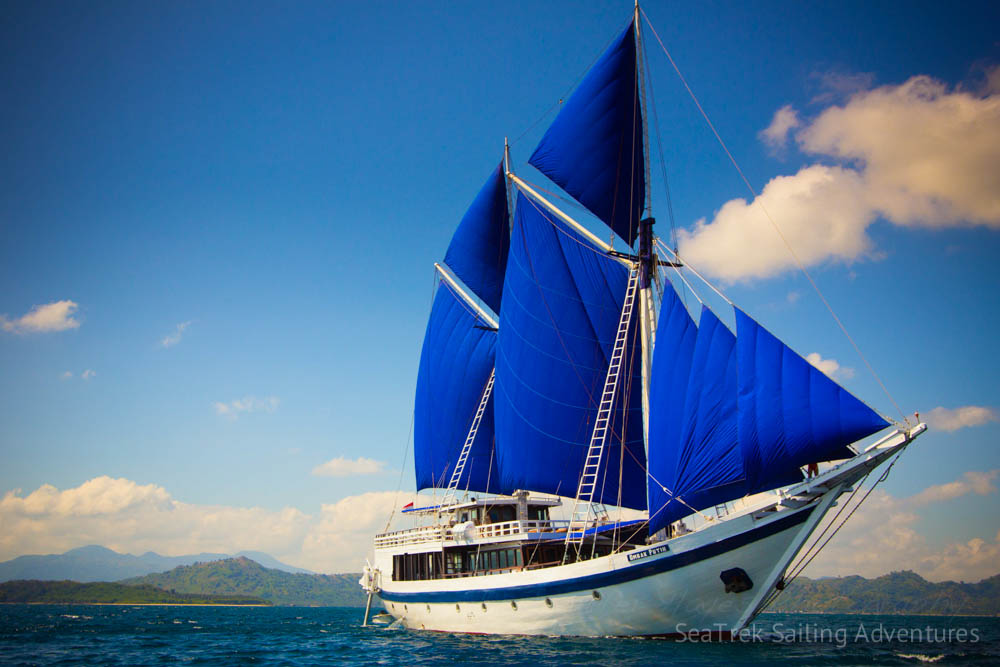 Ombak Putih, the ship servicing Dances, Dragons and Magical Lakes