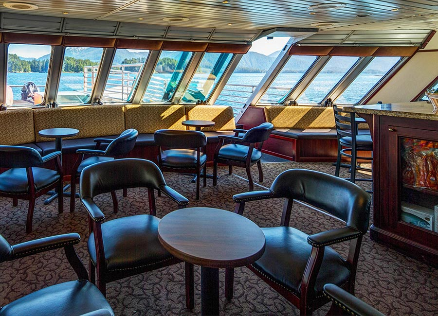 Alaskan Dream Lounge - The Small Cruise Ship Collection