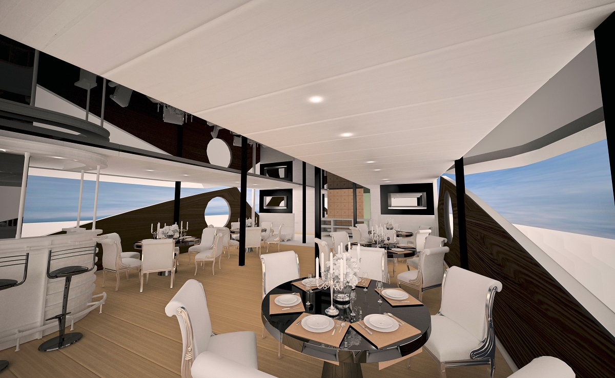 Adriatic Queen dining room | The Small Cruise Ship Collection