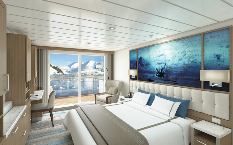 Greg Mortimer Captains Suite | The Small Cruise Ship Collection