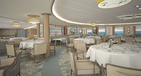 Greg Mortimer Dining Room | The Small Cruise Ship Collection