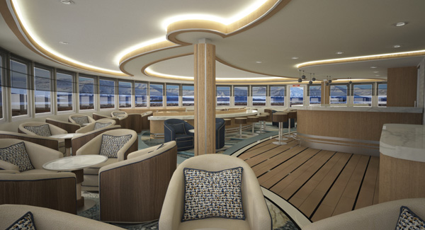 Greg Mortimer Observation Lounge | The Small Cruise Ship Collection