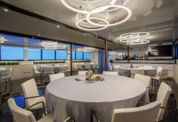 MS Ban dining room | The Small Cruise Ship Collection