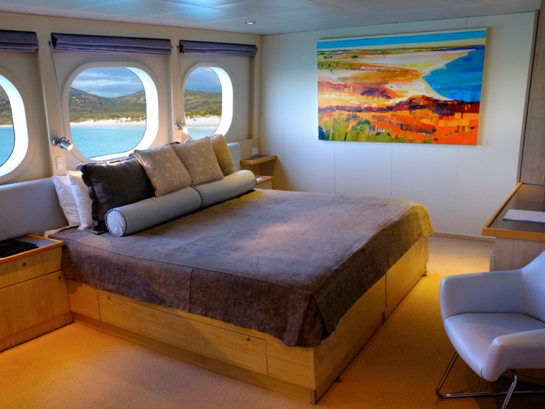 Western australia coral atoll cruise for First class cruise ship cabins