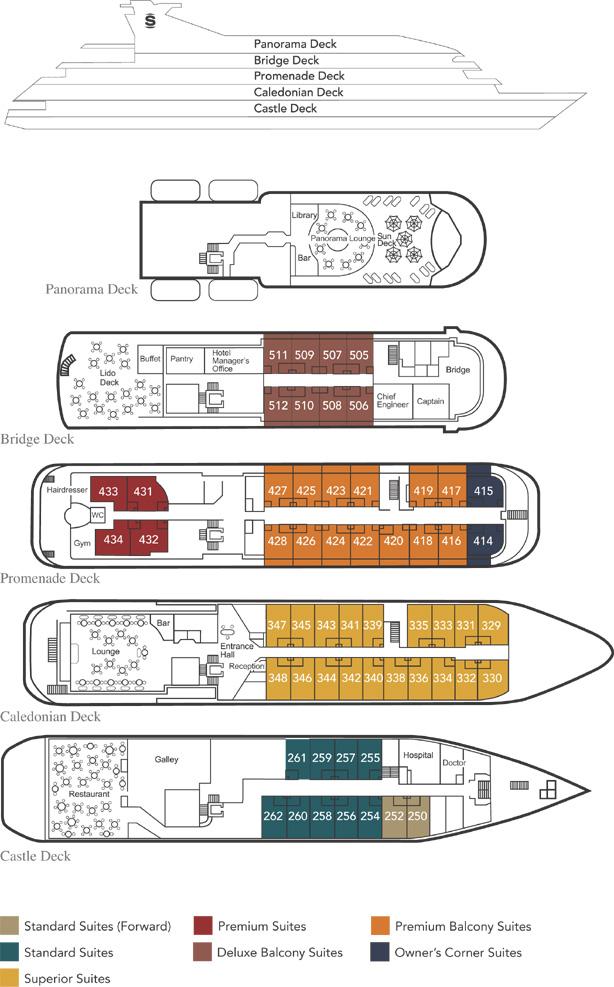 100 100 Ncl Sky Deck Plans 28 Pearl
