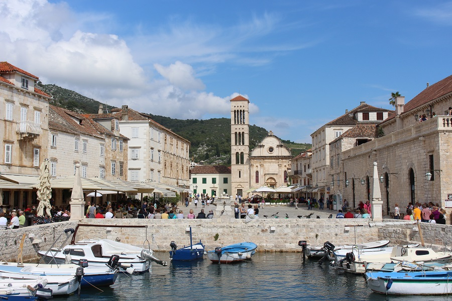 Beautiful town of Hvar