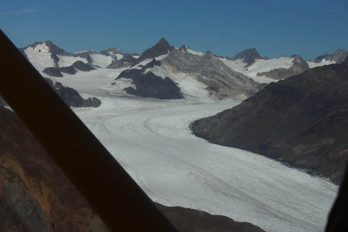 Flightseeing over Glacier Bar - Powell Ettinger