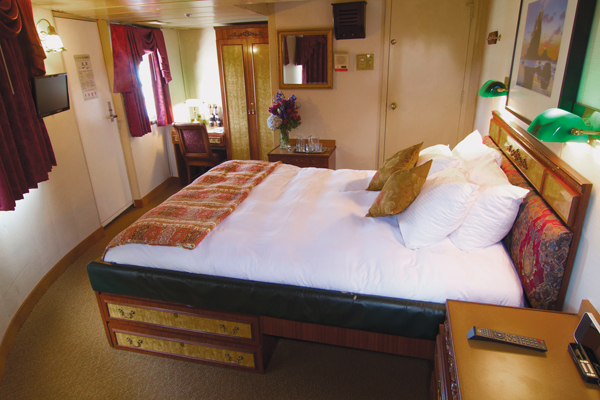SS Legacy Commodore suite - The Small Cruise Ship Collection