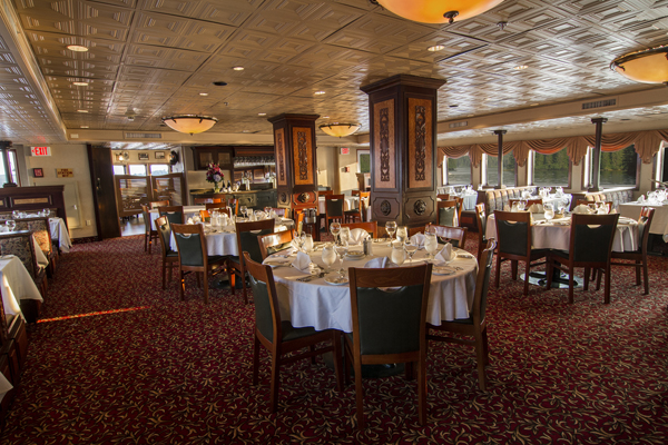 SS Legacy dining room. The Small Cruise Ship Collection