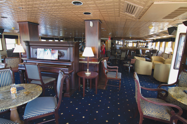 Legacy lounge - The Small Cruise Ship Collection