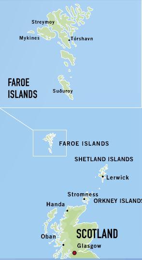 Faroe Islands Ferry From Orkney