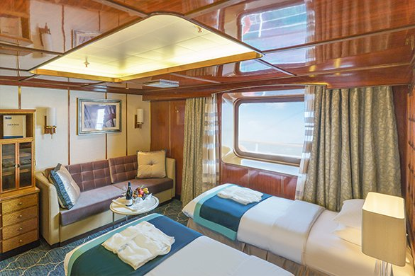 Sea Spirit Superior Suite | The Small Cruise Ship Collection