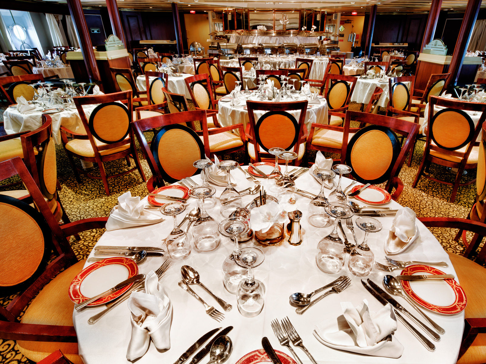 Ocean Diamond dining room | The Small Cruise Ship Collection