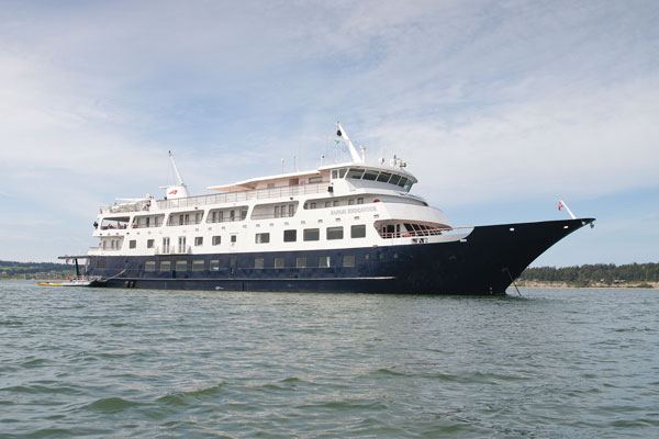 Safari Endeavour, the ship servicing Alaska's Glaciers & Whales (Safari Endeavour)