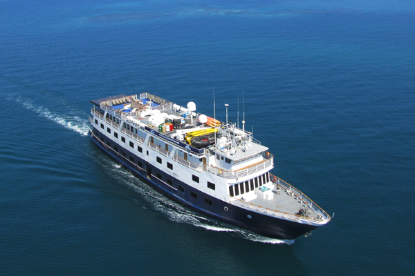 Safari Voyager, the ship servicing Unveiled Wonders of Costa Rica & Panamá