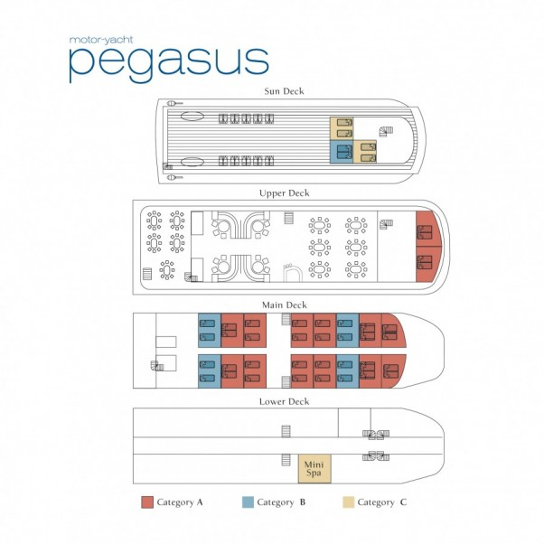 Cabin layout for Pegasus