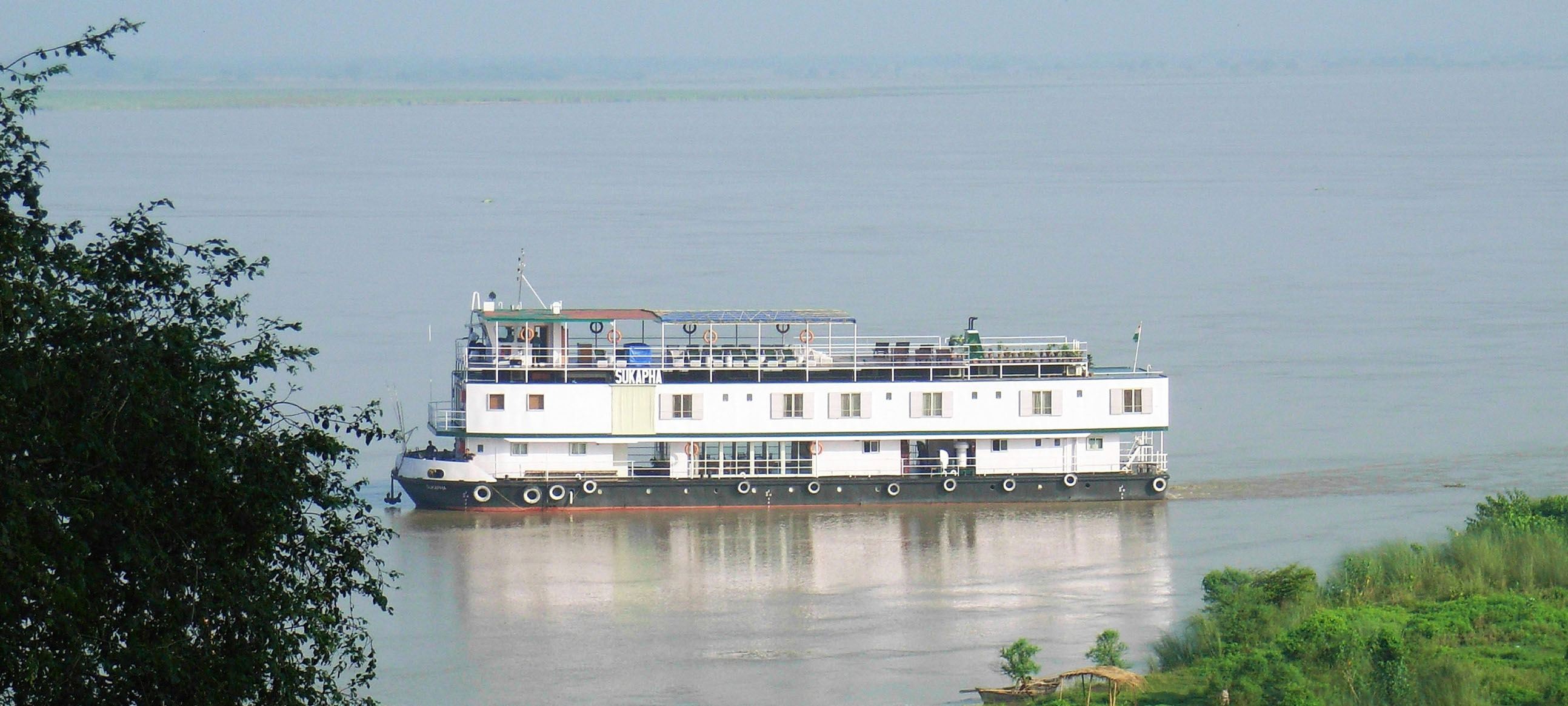 ABN Sukapha, the ship servicing Historic Lower Ganges Cruise (ABN Sukapha)