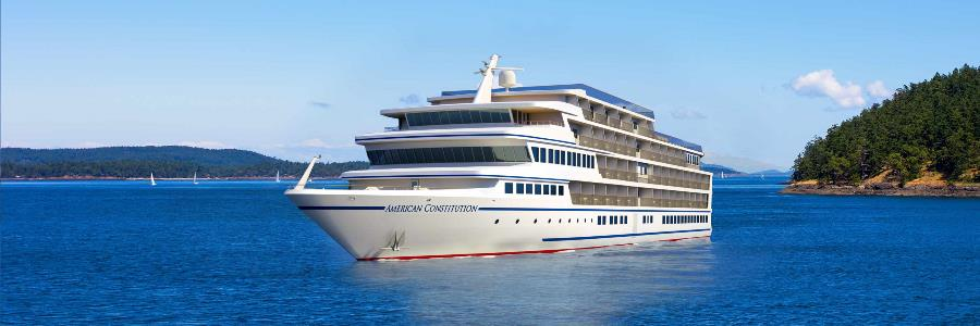 American Constitution, the ship servicing Historic South and Golden Isles Discovery