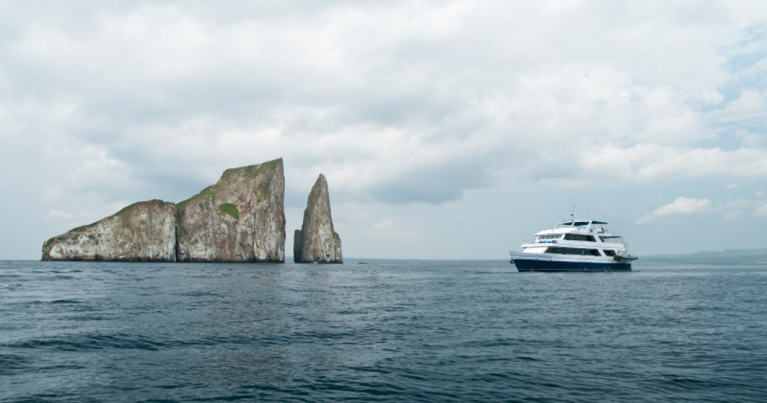 M/Y Flamingo I and Letty, the ship servicing A - Southern/Central Galapagos Cruise