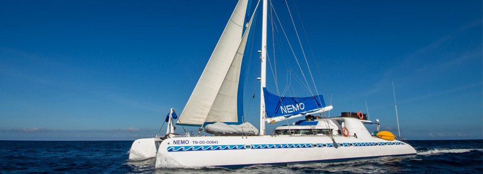 Nemo I , the ship servicing Galapagos 4 Day Cruise Itinerary A (Nemo I)