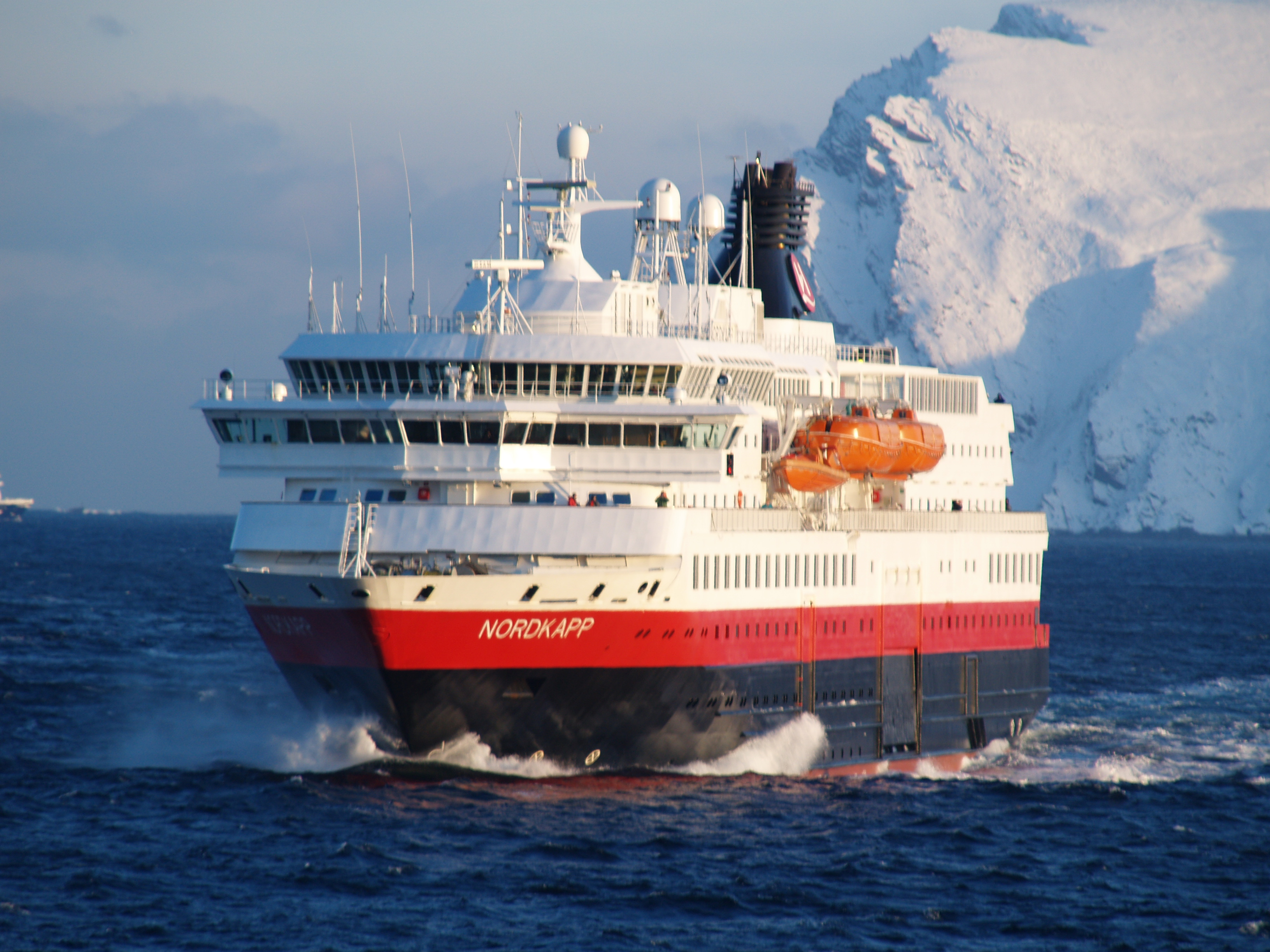 Hurtigruten Ships, the ship servicing Classic Voyage South: Kirkenes - Bergen
