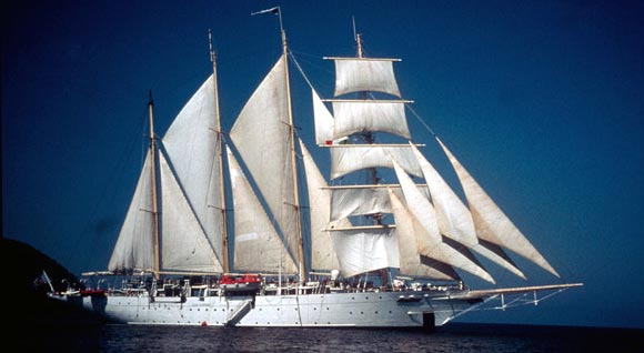 Star Flyer, the ship servicing Corsica & French Riviera Cruise