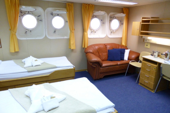 Superior Suite on Akademik Vavilov - The Small Cruise Ship Collection
