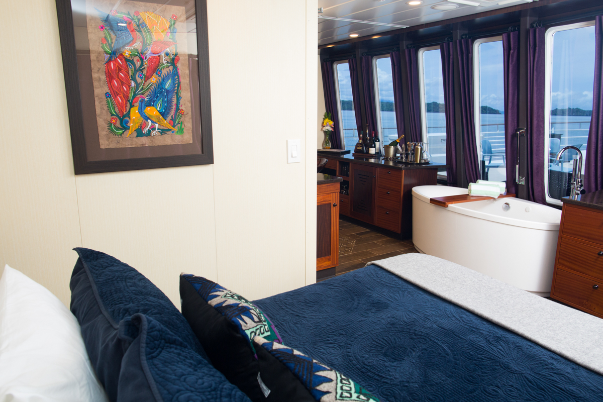 Safari Voyager Owners suite | The Small Cruise Ship Collection